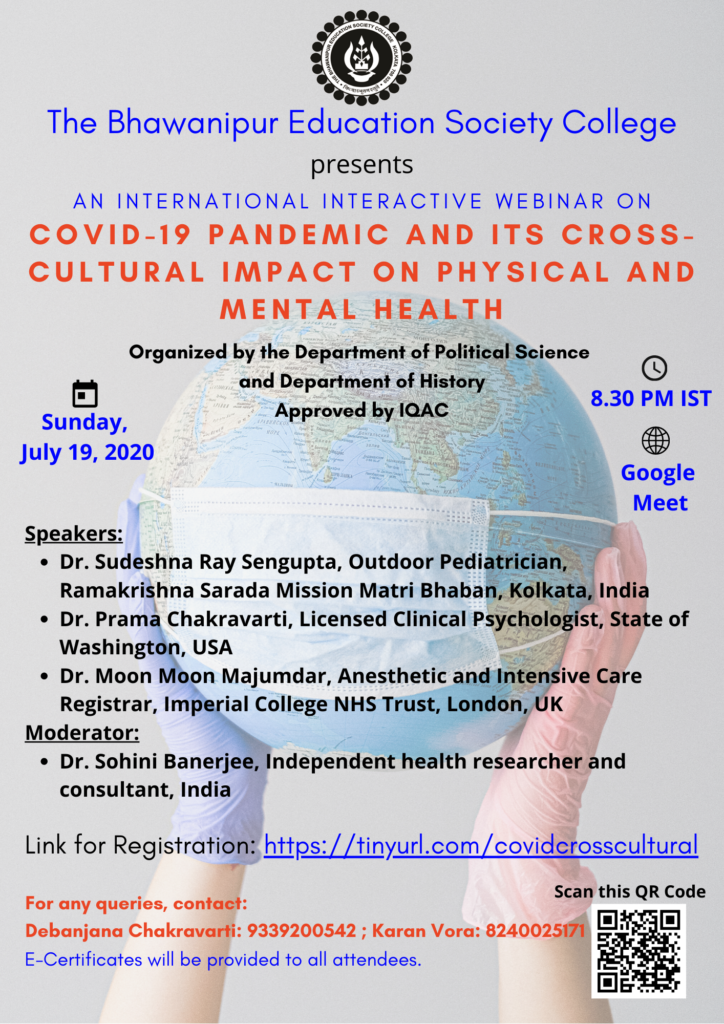 COVID-19 PANDEMIC AND ITS CROSS CULTURAL IMPACT ON PHYSICAL AND MENTAL HEALTH